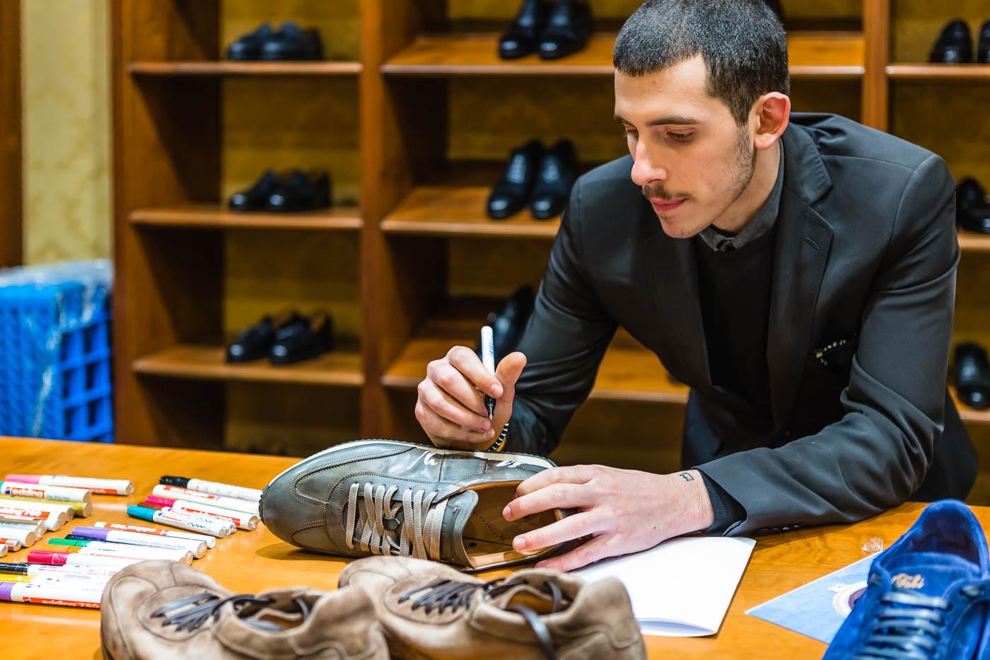 Fabi Shoes event at Mauro Volponi - Pitti Uomo 93 © Giorgio Magini